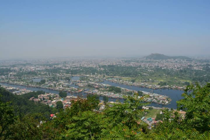 Dal View From Shankaracharya Temple (MyKashmir)